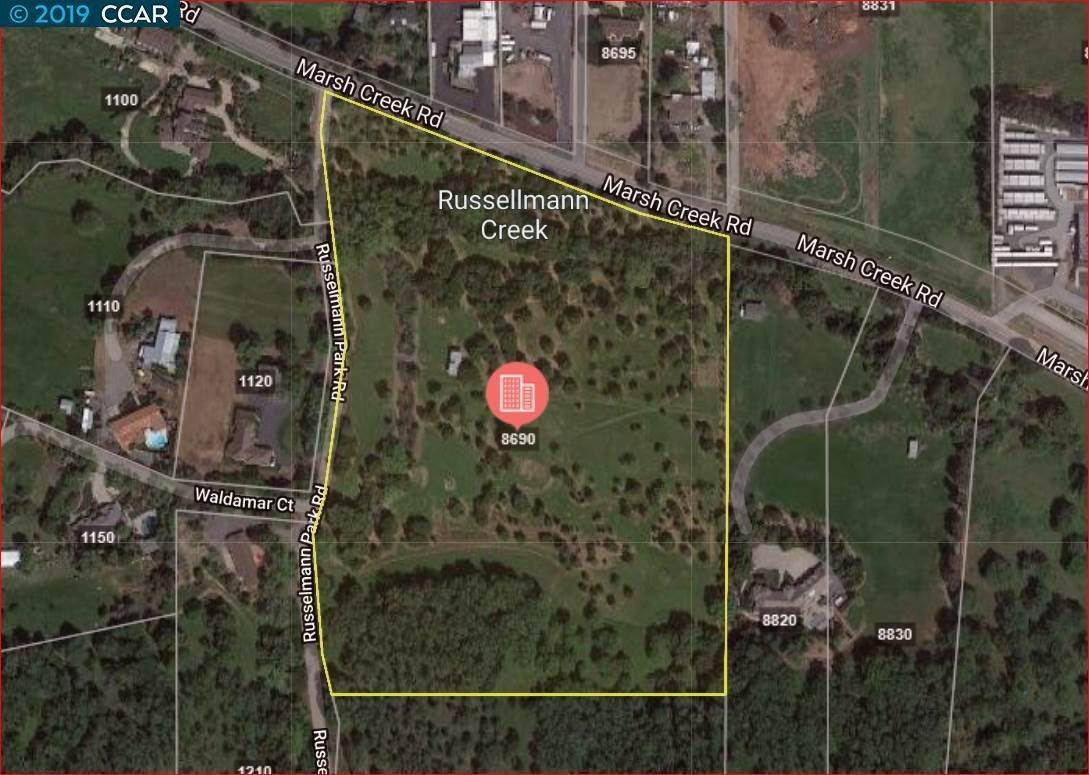 Land / Lots for Sale at 8690 Marsh Creek Road Clayton, California 94517 United States