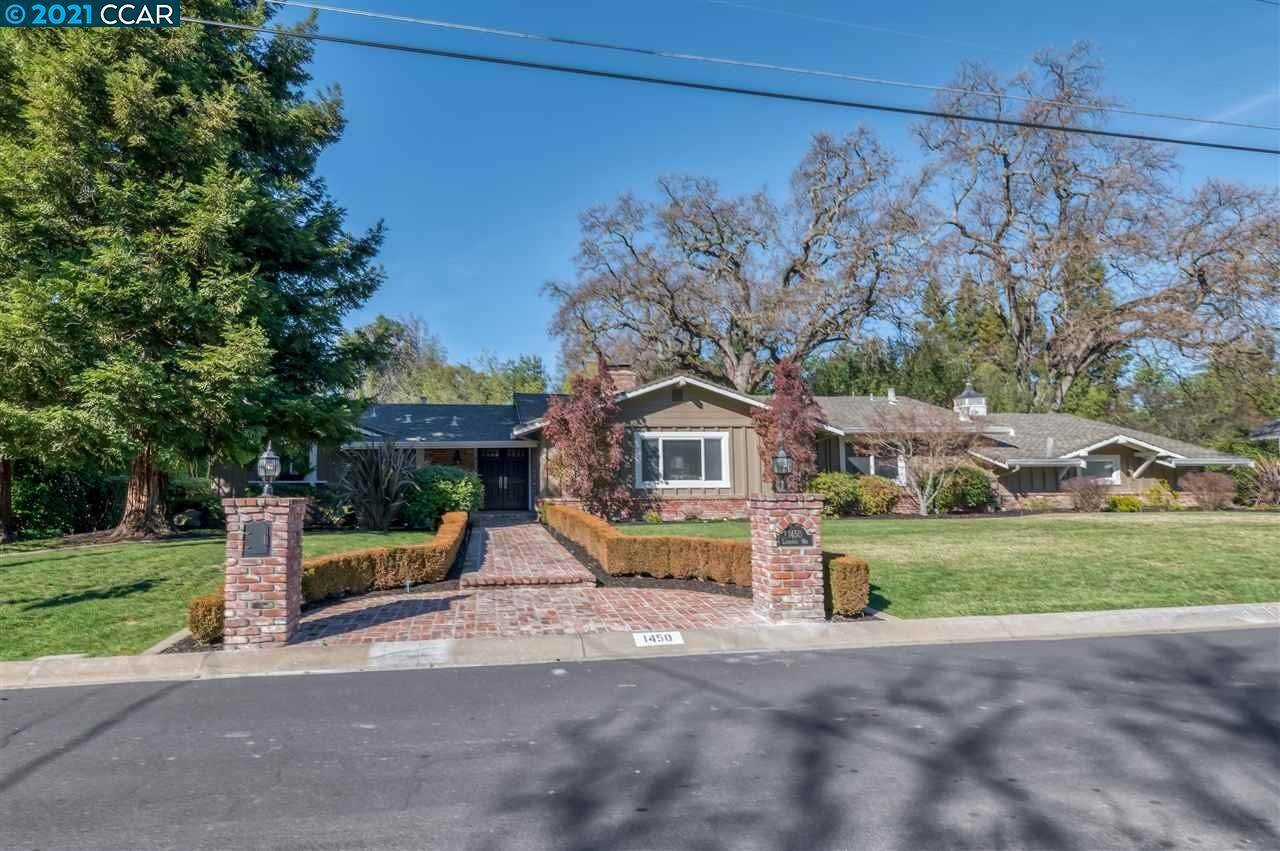 Residential for Sale at 1450 Laurenita Way Alamo, California 94507 United States