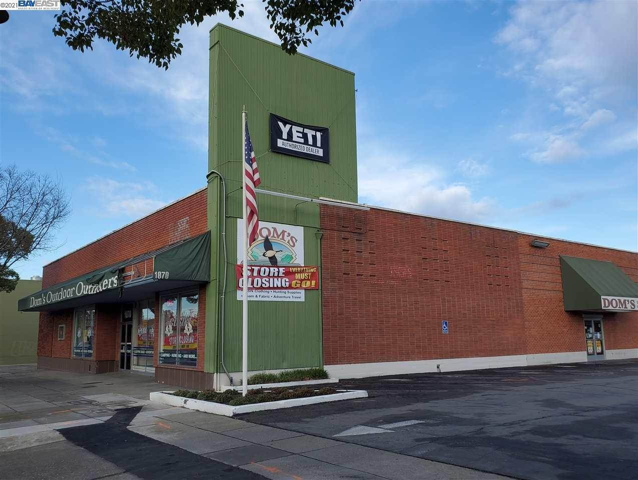 Commercial / Industrial for Sale at 1870 1St Street Livermore, California 94550 United States