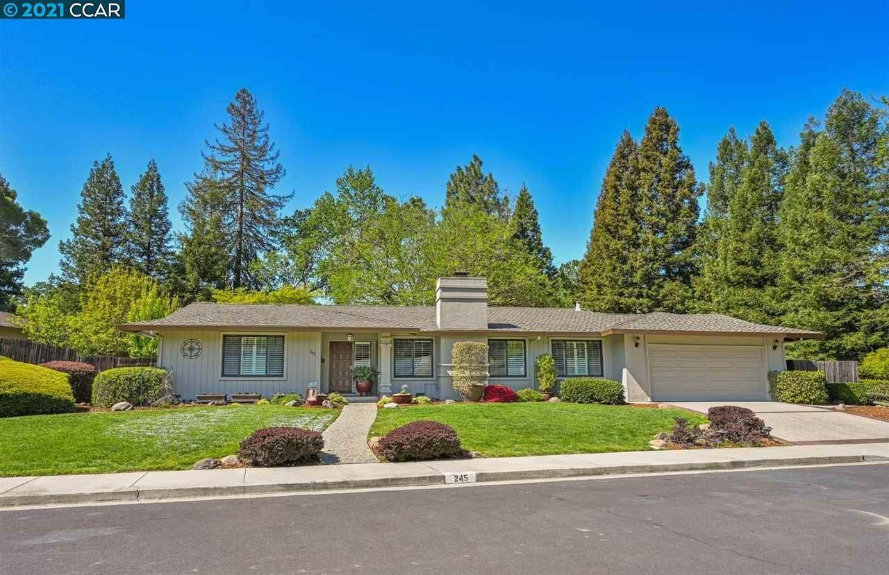 Residential for Sale at 245 Vallecito Lane Walnut Creek, California 94596 United States