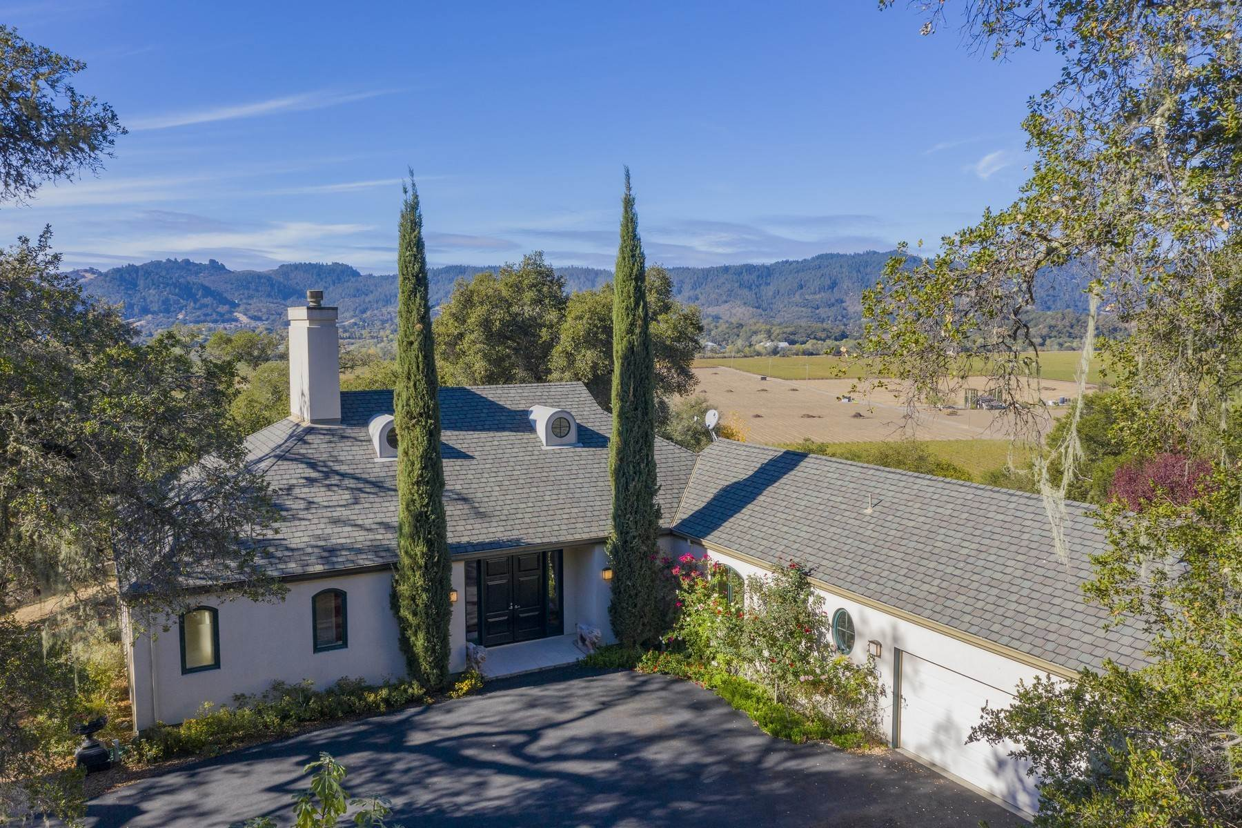 Single Family Homes のために 売買 アット Alexander Valley Chateau 1325 Trimble Lane Cloverdale, カリフォルニア 95425 アメリカ