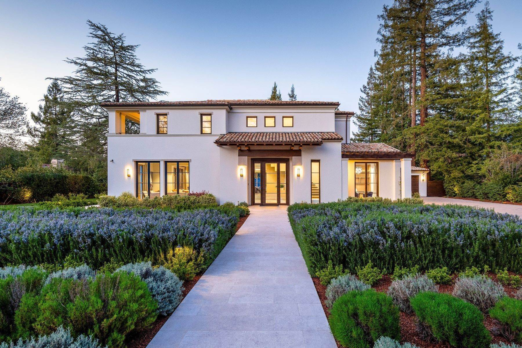 Single Family Homes en Custom Mediterranean Home Located in Prime West Atherton 43 Linda Vista Avenue Atherton, California 94027 Estados Unidos