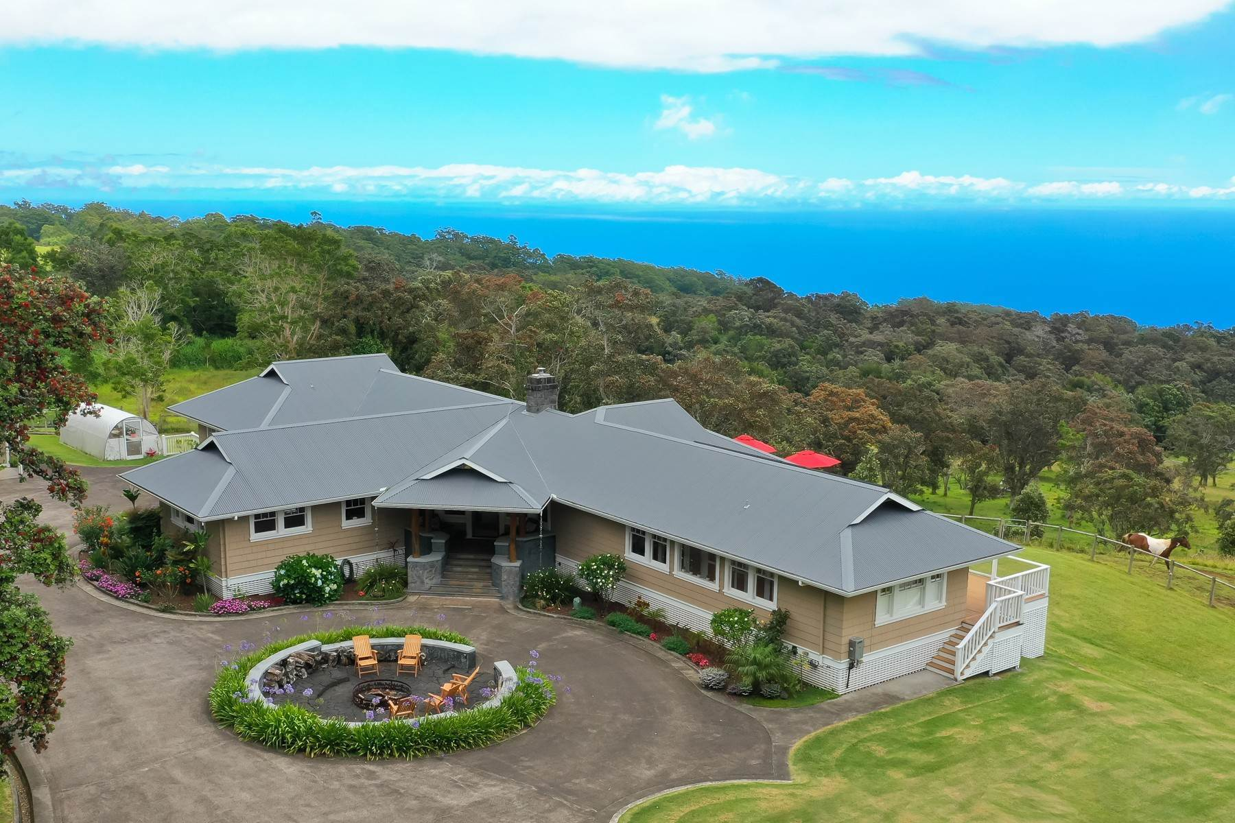 Multi-Family Homes for Sale at 29 acre Hamakua Ranch Estate with Mauna Kea and Pacific Ocean Views... 42-1952 Kalapahapuu Rd. Paauilo, Hawaii 96776 United States