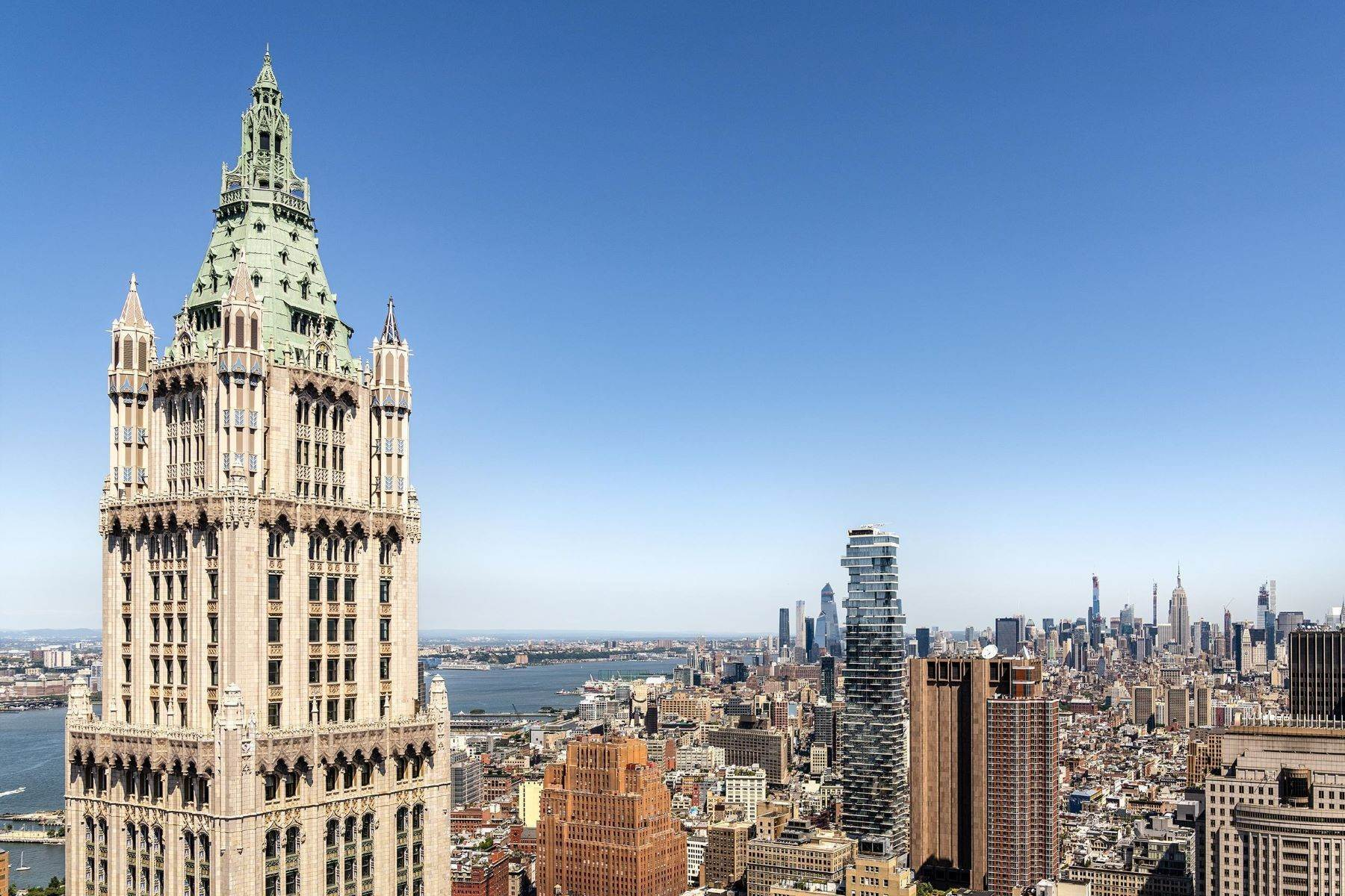 Condominiums のために 売買 アット The Pinnacle Penthouse 2 Park Place, Pinnacle Penthouse New York, ニューヨーク 10007 アメリカ